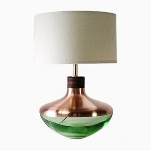 Lampada Museum M1 color verde menta in rame di Utopia & Utility