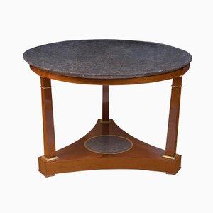 Französischer Mahagoni Tisch, 19. Jahrhundert