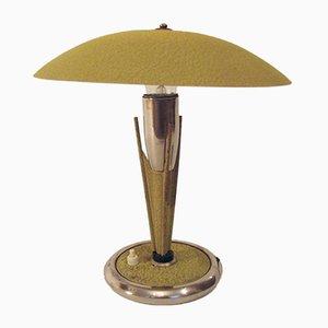 Lámpara polaca vintage con forma de champiñón, años 60
