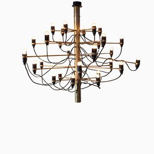 Italian 2097/30 Chandelier by Gino Sarfatti for Arteluce, 1958