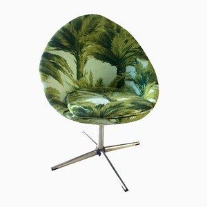 Vintage Sessel mit Palmenmotiv, 1960