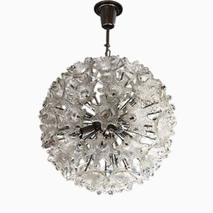 Vintage Handblown Glass Sputnik Chandelier from Mazzega, 1960s