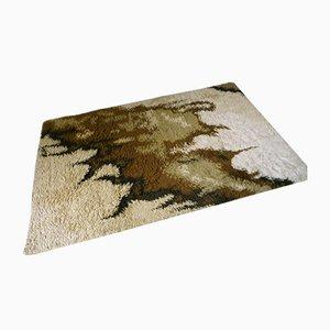 Abstrakter Dänischer Teppich von Ege Rya, 1960er