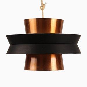 Lámpara colgante de cobre de Carl Thore para Granhaga Metallindustri