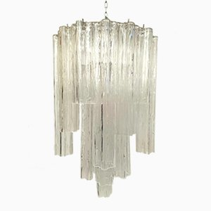 Tronchi Chandelier by Toni Zuccheri for Venini, 1960s