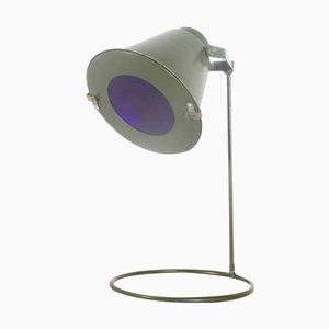 Lampe Landing Zone Style Militaire Allemagne de l'Est, 1970s