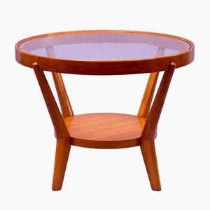 Tavolino da caffè in quercia chiara di Kozelka & Kropacek, anni '40