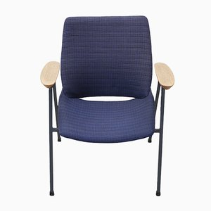 Blue Lupina Shell Lounge Chair by Niko Kralj, 1975