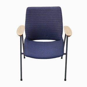 Blue Lupina Shell Lounge Chair by Niko Kralj, 1975