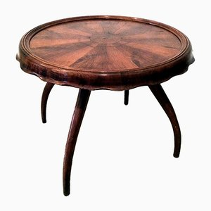 Table Basse en Noyer, 1930s