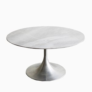 Vintage Tulip Marble Side Table from Stol