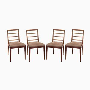 Chaises de Salon Mid-Century en Teck de A.H. McIntosh, 1970s, Set de 4