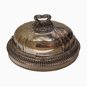 Antique French Silver-Plated Cloche