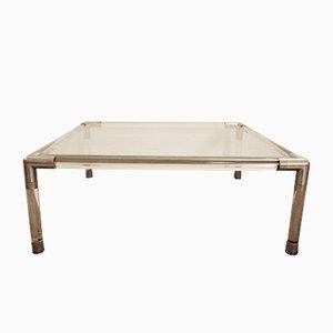 Table Basse en Verre de Maison Jansen