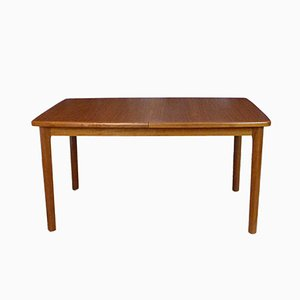 Danish Extending Teak Dining Table, 1960s