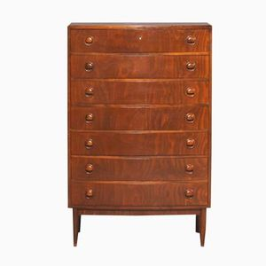 Mid-Century Danish Chest with 6 Drawers by Kai Kristiansen, 1950s