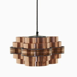 Mid-Century Scandinavian Ceiling Light by Verner Schou for Coronell, 1970s