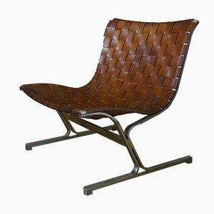 Mid-Century Model PLR1 Lounge Chair by Ross Littell for ICF De Padova, 1970s