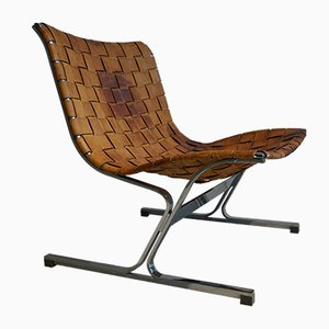 Mid-Century PLR1 Lounge Chair by Ross Littell for ICF