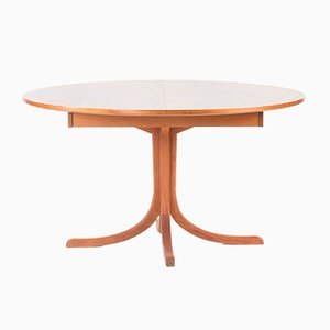 Extendable Mahogany Dining Table by Josef Frank for Svenskt Tenn, 1970s