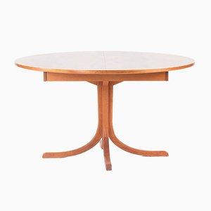 Tavolo da pranzo allungabile in mogano di Josef Frank per Svenskt Tenn, anni '70