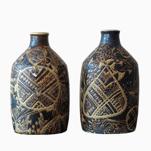 Ceramic Vases by Nils Thorsson for Royal Copenhagen, 1960s, Set of 2