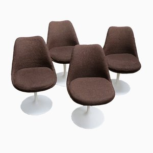 Swivel Tulip Chairs by Eero Saarinen for Knoll International, 1970s, Set of 4