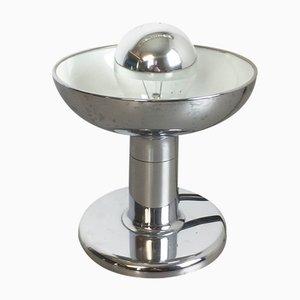 Lampada da tavolo con base placcata in cromo di Cosack, anni '70