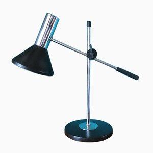 Lámpara de escritorio holandesa, años 70