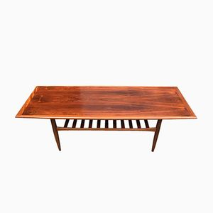 Mid-Century Danish Palisander Coffee Table by Grete Jalk for Glostrup Møbelfabrik, 1950s