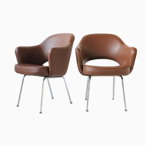 Conference Armchairs by Eero Saarinen for Knoll, 1970, Set of 2