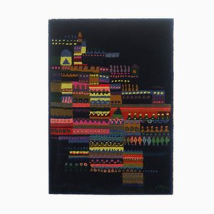 Arazzo in lana di Schwabinger Kunstler Kollection, anni '60