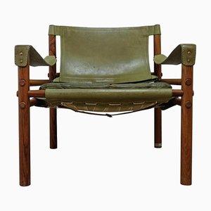Easy Chair Sirocco Vintage Verte par Arne Norell