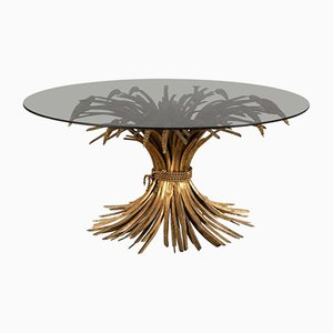 French Sheaf of Wheat Coffee Table from Maison Bagues, 1950s