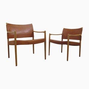 Schwedische Vintage Premiär Armlehnstühle von Per-Olof Scotte für IKEA, 2er Set