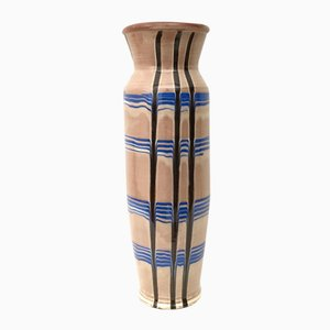 Glasierte Vintage Keramikvase