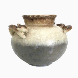 Jarrón de cerámica de Carstens, años 40