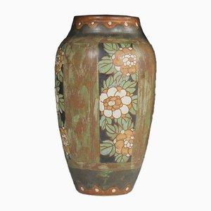 Vintage Belgian Art Deco Vase by Charles Catteau for Keramis
