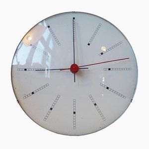 Relojes de pared Inventory Bankers de Arne Jacobsen para Gefa, 1971