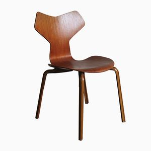 Vintage Grand Prix 4130 Chair by Arne Jacobsen for Fritz Hansen