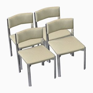 Italian Dining Chairs from Sigmachair, 1970s, Set of 4