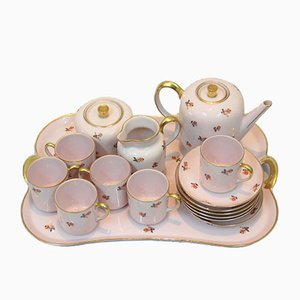 Vintage French Coffee Set by Jean Haviland for Jos. Guillaume de Anvers