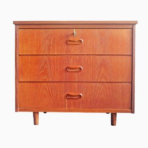 Dutch Teak Chest of Drawers, 1960s
