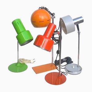 Lámparas Pop italianas, años 60. Juego de 4