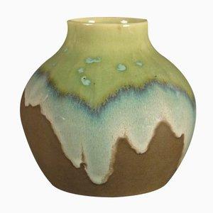 Vintage Art Nouveau Ceramic Vase from Karlsruher Majolika