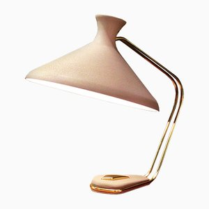 Mid-Century Modern Diabolo Desk Lamp with Special Wrinkled Finish, 1950s