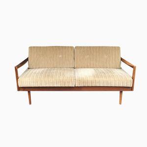 Dormeuse allungabile in teak di Florence Knoll Bassett per Knoll Inc., anni '60