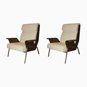 Vintage Alba Lounge Chairs by Gustavo Pulitzer for Arflex, Set of 2