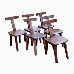 Finnische Stühle von Olavi Hänninen für Mikko Nupponen, 1950er, 6er Set
