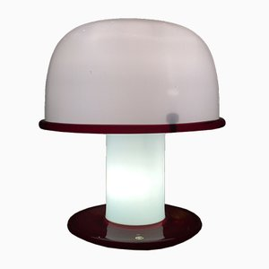 Italian Glass Table Lamp by Ettore Sottsass for Vistosi, 1977